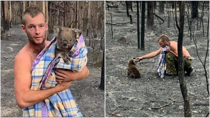 Mladić riskirao život kako bi spasio životinje od požara u Australiji