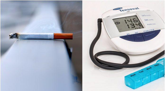 Kako pušenje utječe na krvni tlak?