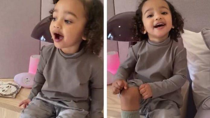 Kim Kardashian objavila video kćerkice koja pjeva: ''Isuse, volim te''