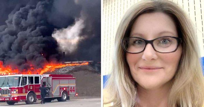Hrabra majka je poletjela u vatru kako bi spasila neznanca