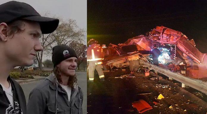 Dva muškarca su čula Božji glas netom prije nesreće