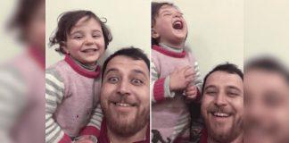 Potresna snimka oca i kćeri iz Sirije rasplakala je svijet