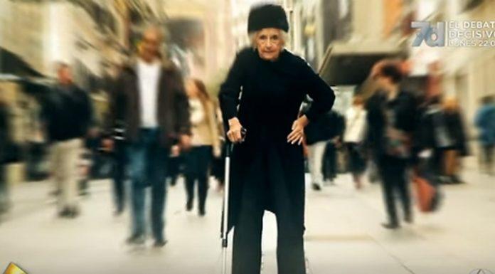Baka (81) je jedva hodala, a onda je bacila štap i šokirala prolaznike
