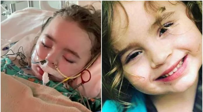 Djevojčica (4) svjedoči o Božjoj dobroti nakon što je skoro umrla od gripe