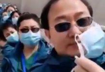 Kineski liječnici skidaju maske