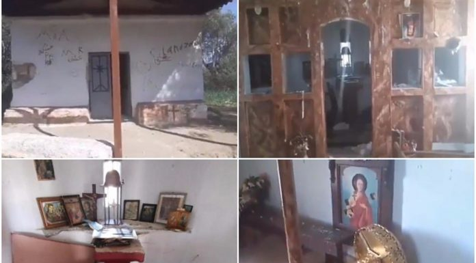 Migranti uništili crkvu u Grčkoj, ostavili kaos iza sebe