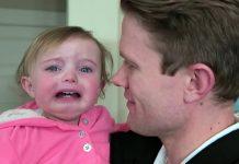 Urnebesna reakcija beba na tate koji su obrijali brade