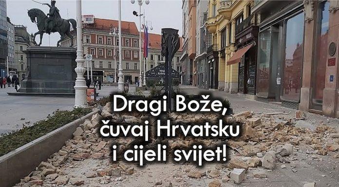 Molitva za Hrvatsku i cijeli svijet