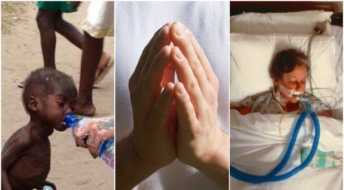 Netko se moli za stvari koje ti uzimaš zdravo za gotovo