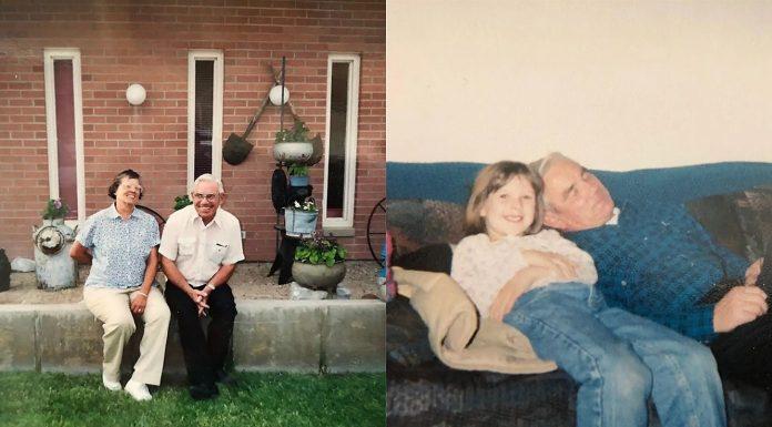 Djevojčica je pitala svoje susjede da joj budu djed i baka