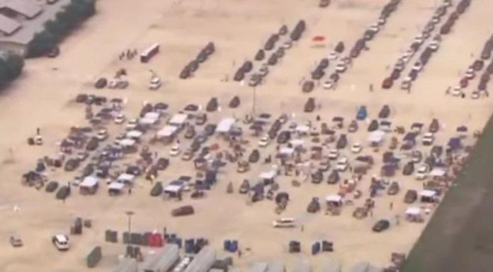Potresne slike iz Amerike: Tisuće gladnih čekali na paket hrane za Uskrs