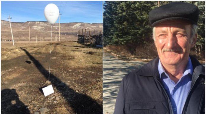 Poljoprivrednik našao balon u kojem je bilo pismo od djevojčice