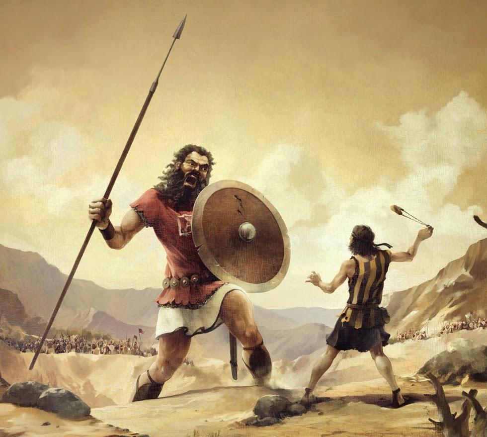 Kralj David i Golijat