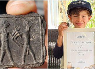 Dječak (6) pronašao glinenu ploču staru 3.500 godina