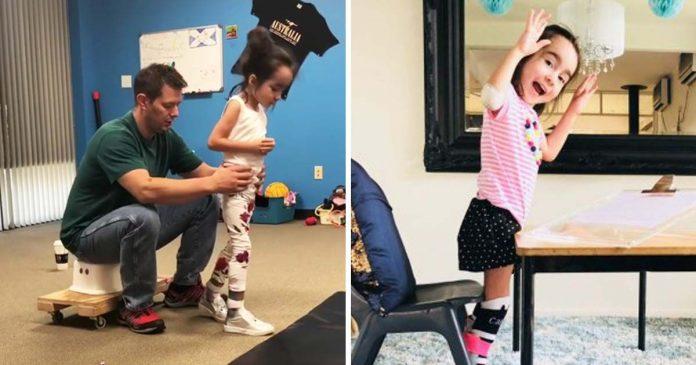 Djevojčica s cerebralnom paralizom pobijedila crne prognoze liječnika