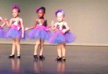 Djevojčica nasmijala publiku do suza svojim posebnim plesnim koracima