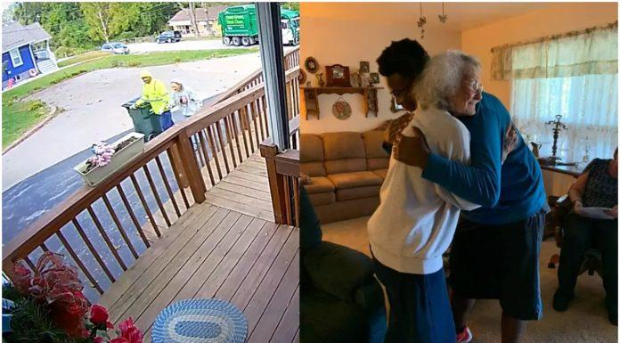 Smetlar redovno pomaže jednoj senilnoj starici