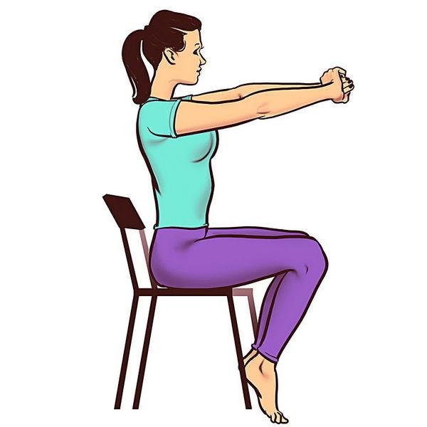 Jednostavna vježba za vrat 2