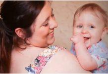 Mama je imala 9 spontanih pobačaja, no liječnici su spasili bebu