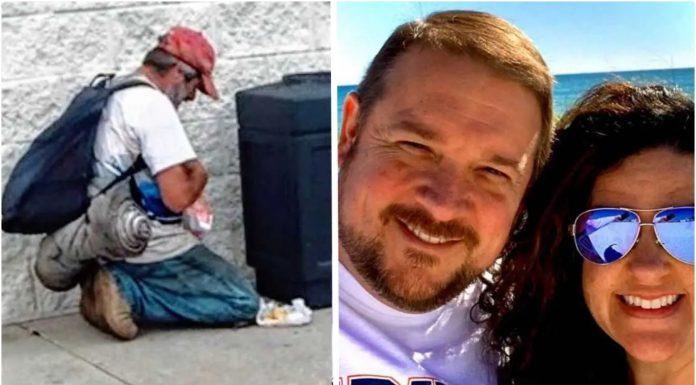 Beskućnik se molio za jedan obrok