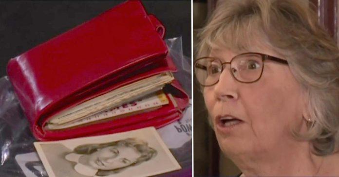 Bila je tinejdžerka kada su joj ukrali novčanik - 58 kasnije su joj ga vratili