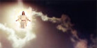 Isus na oblacima