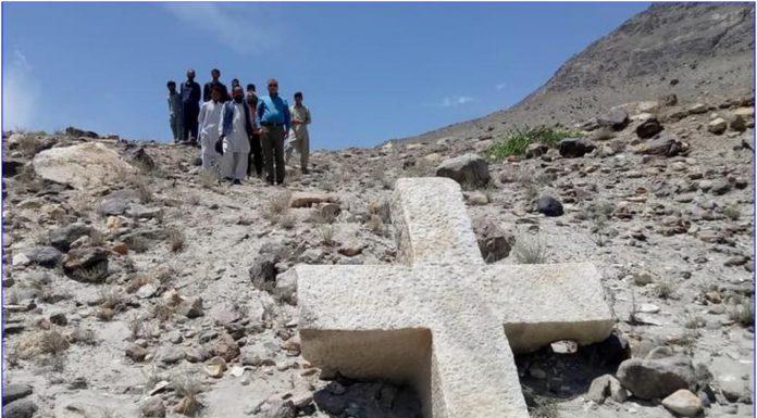 U Pakistanu pronađen križ star 1200 godina