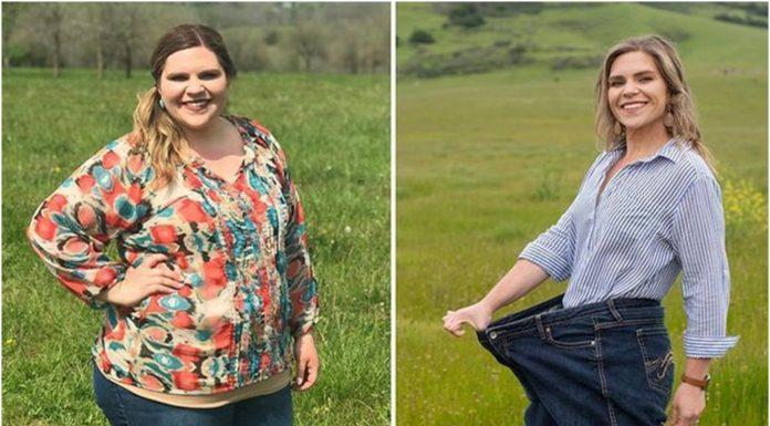 Tijekom dijete je slijedila pet savjeta - smršavila je 56 kilograma