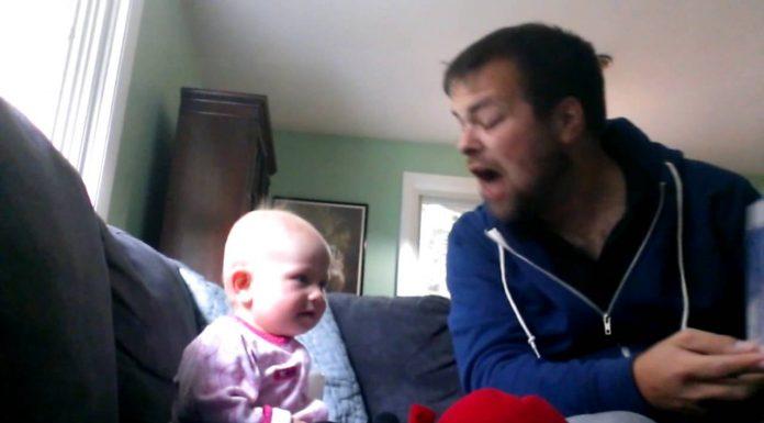 Čitao je svojoj nećakinji knjigu, a njezina reakcija ga je iznenadila