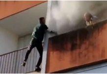 Djed se iz požara uspio spasiti zahvaljujući reakciji trojici mladića