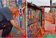 Djed (94) spasio napušteno selo tako što ga je učinio umjetničkim djelom