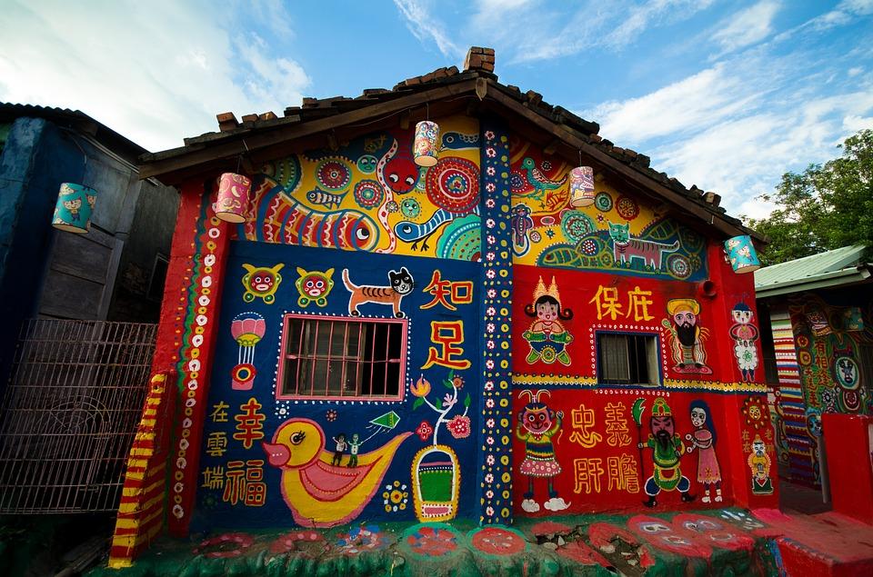 Djed pretvorio selo u umjetničko djelo