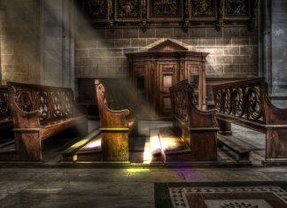 Vaše mjesto za sjedenje u crkvi je mjesto u raju