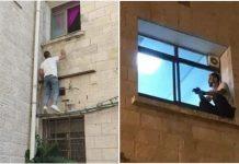 Muškarac se svaki dan penjao na prozor bolnice da vidi svoju bolesnu maku, a sada je to prestao nakon što je umrla od koronavirusa.