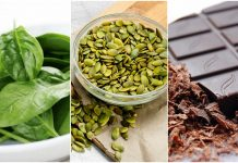 Zdrave namirnice koje sadrže željezo