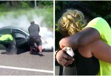 ''Anđeo čuvar'' spasio mladića iz zapaljenog automobila