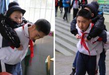 Dječak (12) svaki dan nosi prijatelja u školu, a to čini već 6 godina