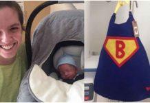 Medicinska sestra je imala posebnu odjeću za njihovog sina