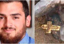 Mladić (23) preminuo s križem u ruci, pronašli ga ispod ruševina u Bejrutu