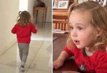 Baka snimila reakciju unuke koja je dobila brata,