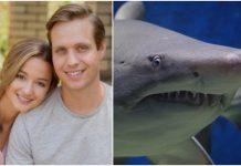 Hrabra trudnica spasila muža od napada morskog psa