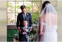 Fotograf uhvatio predivne trenutke kada su mladoženja i njegov sin ugledali mladu