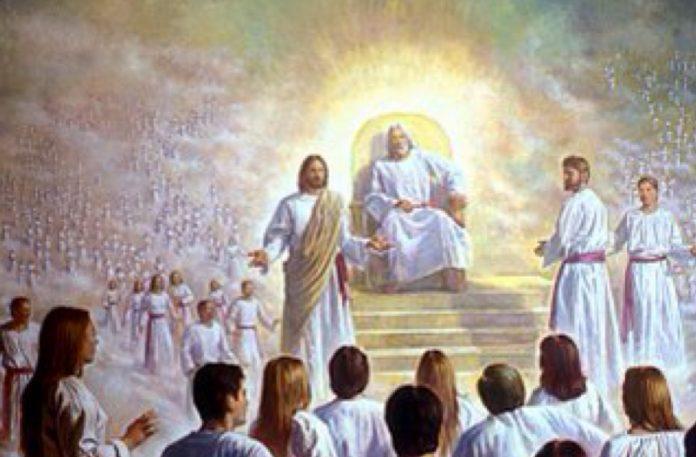 Sjedi li tko slijeva Bogu?