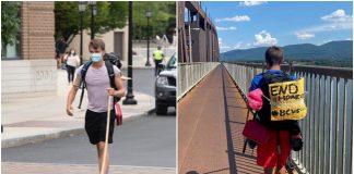 Student prehodao stotine kilometara kako bi prikupio novac za beskućnike