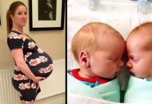 Majka je imala veliki trbuh, a njeni blizanci su ušli u povijest