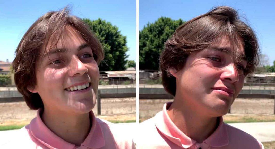 Tinejdžer zaplakao kada je čuo evanđelje