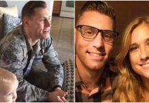 Vojnik je briznuo u plač kada je vidio iznenađenje svoje supruge