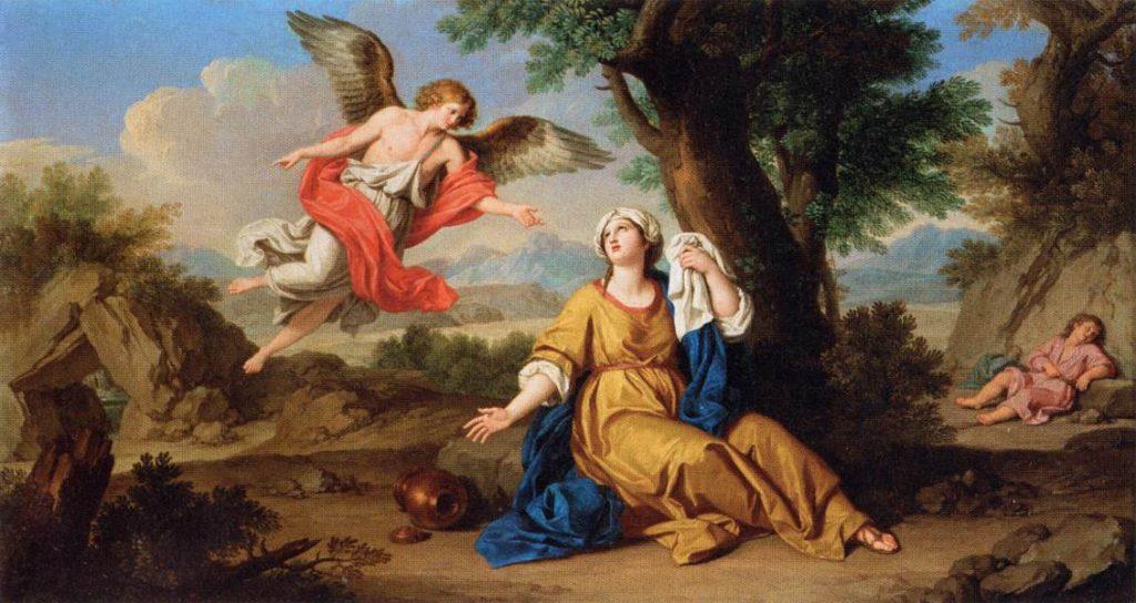Hagara i anđeo