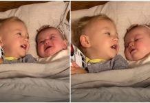 Stavila je sina i kćerkicu na spavanje, a onda ugledala nešto predivno