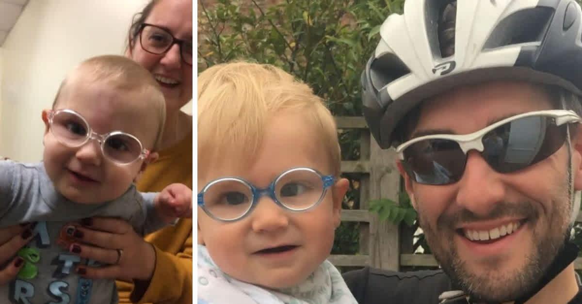 Dječak nakon operacije prvi put u životu jasno vidi